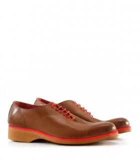 Zapatos de vestir en cuero marrón