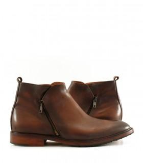 Botinetas de cuero en marrón