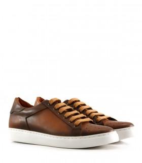 Zapatillas urbanas de cuero suela