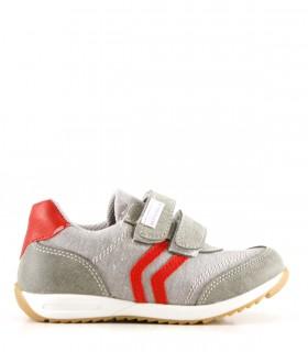 Zapatillas de tela en gris