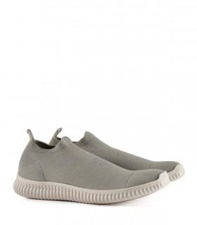 Zapatillas urbanas de tela en gris