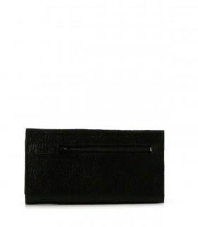 Billeteras de cuero negro