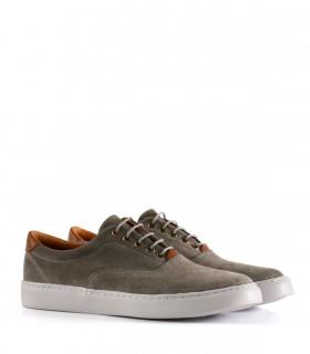 Zapatillas urbanas de gamuza en gris