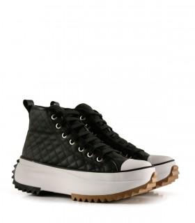 Zapatillas urbanas de símil en negro