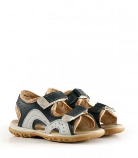 Sandalias de símil en azul