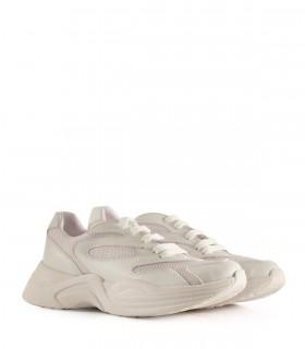 Zapatillas urbanas de símil blancas