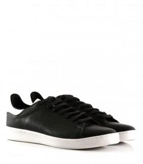 Zapatillas urbanas de cuero negro/blanco